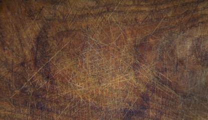 Altes Holzbrett als antiker Hintergrund aus Holz in braun als leere Fläche zur Dekoration.