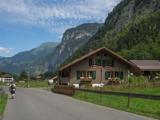 pueblo de Stechelberg en Suiza OLYMPUS DIGITAL CAMERA