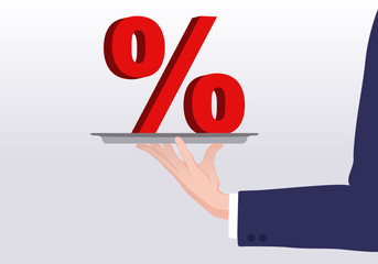 Pourcentage - Plateau - Crédit