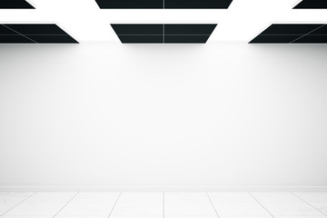 Interior with blank wall