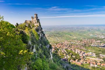 San Marino View Wall mural