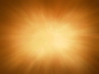 gold background with sunburst design, rays or beams of light streaming from heaven illustration, gold radial blur