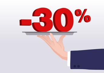 Service - 30%