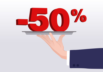 Service - 50%