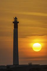 Ras Bir Lighthouse near Obock Djibouti