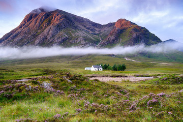 Wall Mural - Sunrise at Glencoe