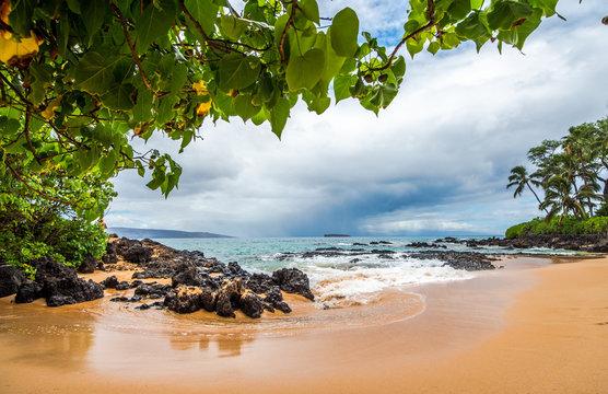 Gentle Surf at Island Beach Cove - Makena, HI