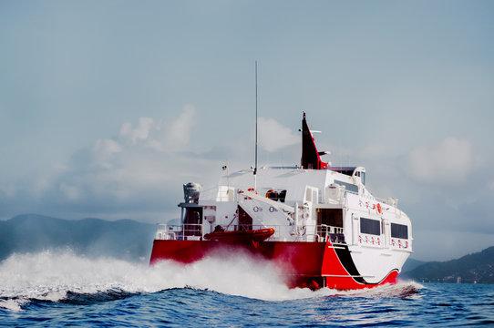 Water Taxi Speedboat taxi service in Trinidad and Tobago
