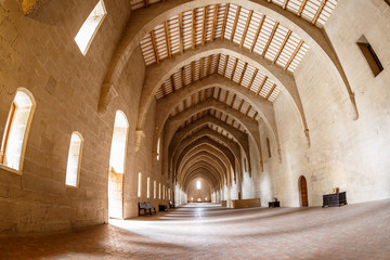 Abbey of Poblet in Spain