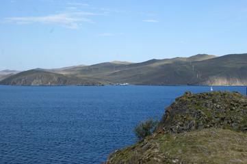 Travel through the beautiful corners of nature lake Baikal