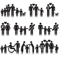 Unorthodox vectored families