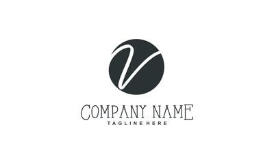 V logo initial