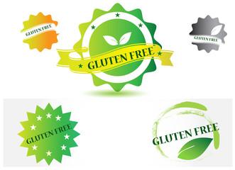 Gluten free symbol set