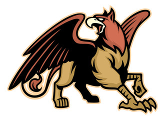 griffin mythology creature mascot