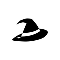 icon Witch hat Halloween