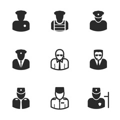 Security vector icons.