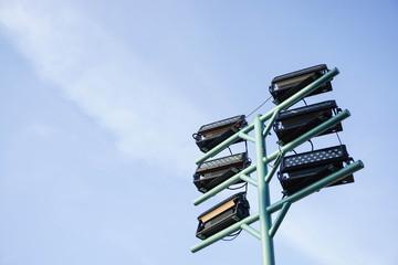 giant outdoor lamppost