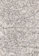 Crumpled Paper Background White 06