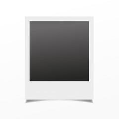 Photo frame isolated on a background