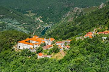 Monasterio de San Esteban (Ribas de Sil), Orense (España)