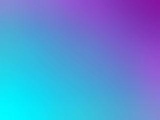 Abstract gradient purple blue teal colored blurred background
