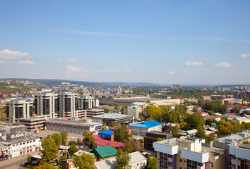 Panoramic view of the Irkutsk