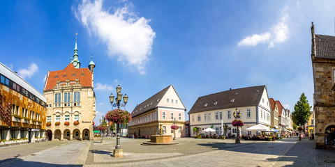 Bückeburg, Rathaus Panorama
