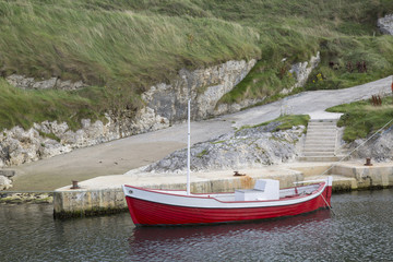 Fishing Boat, Ballintoy Harbour; County Antrim