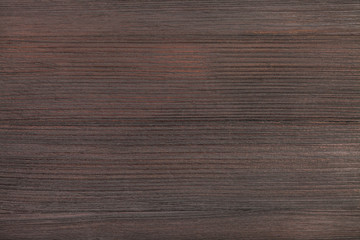 Wall Mural - wooden texture of dark brown color