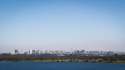 Brasilia city skyline, Brazil