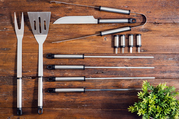 Barbecue utensils