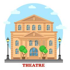 Grand theatre or Buildingfor entertainment