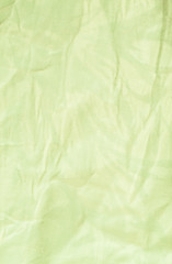 Wrinkled fabric texure
