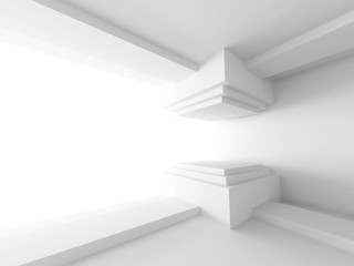 Abstract Empty Interior Architecture Background