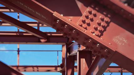 Metal construction.