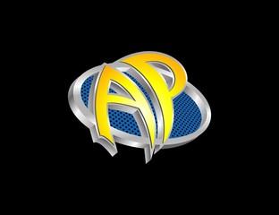 AP letter logo