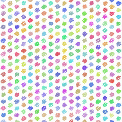 Seamless Pattern - Handwriting - Pop