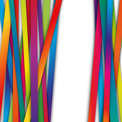 kolorowe pasy wektor