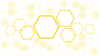 abstract bee hive background , hexagon background