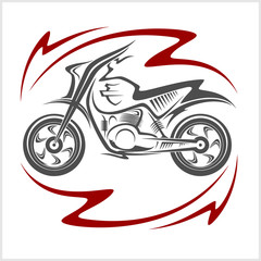 Motorcycle Vector Elements