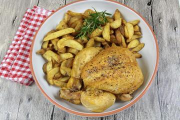 poulet et pommes de terre 22092016