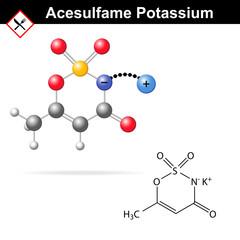Acesulfame potassium - artificial sweetener