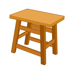 Chair isolated illustration