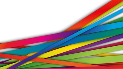 Fototapeta kolorowe pasy tło wektor