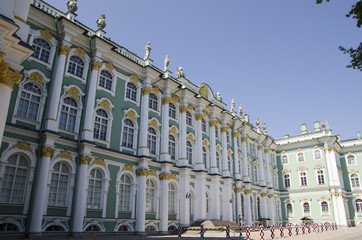 Winter Palace in Saint Petersburg. Russia
