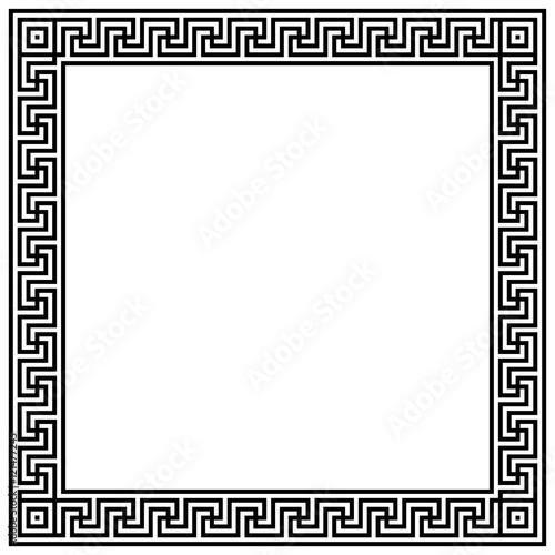 cadre d co m andres grecs format carr stockfotos und lizenzfreie vektoren auf. Black Bedroom Furniture Sets. Home Design Ideas