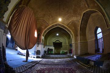 Kabud Mosque damaged in earthquake since 1779. Tabriz, Iran, September 10, 2016.
