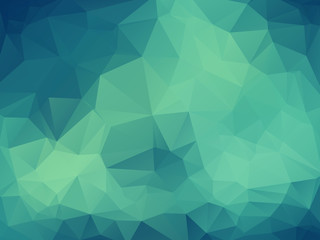 Abstract vector polygonal background