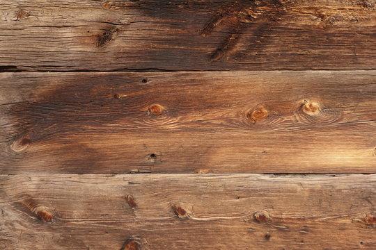 Large Weathered Planks - Horizontal