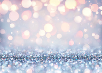 Glittering Effect For Luxury Christmas - Shining Background